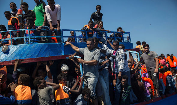 Charity staff have pulled back from Mediterranean