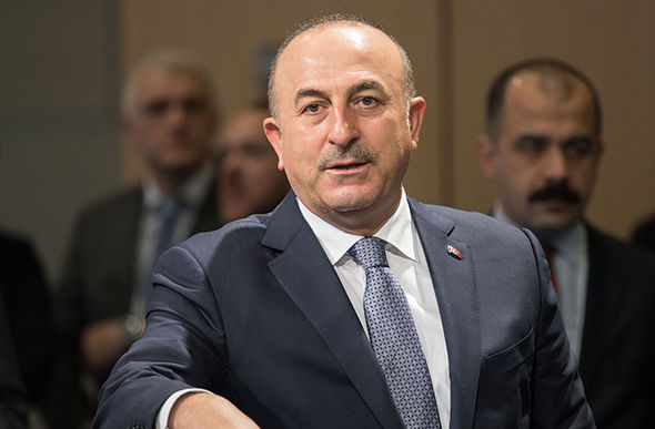 Mevlut Cavusoglu, the Turkish foreign minister said Germany is anti-Turkey