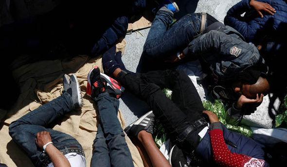 Migrant Mediterranean Sea rescue