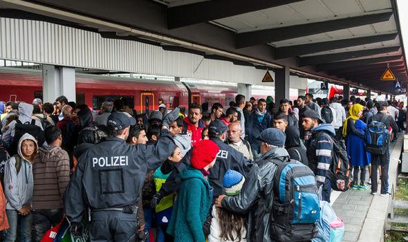 Migrants in Germany