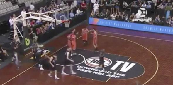 NBA match