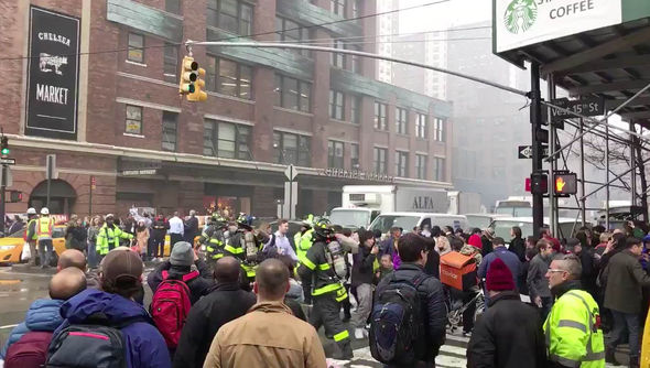 More than 120 firefighters were at the scene