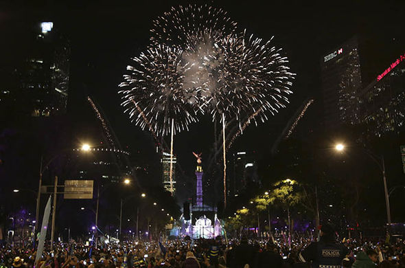 New Years Eve Mexico City