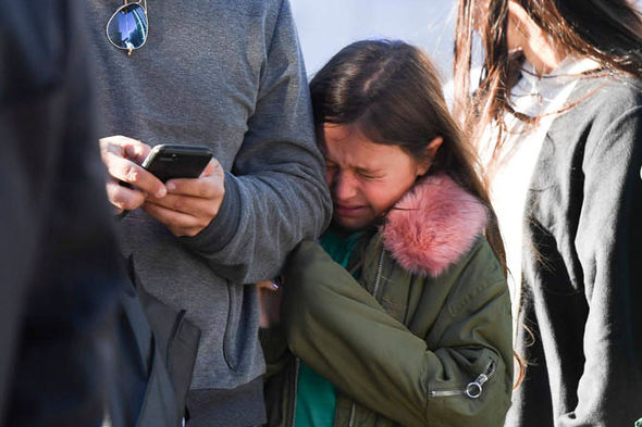 New York terror attack: A small girl crying