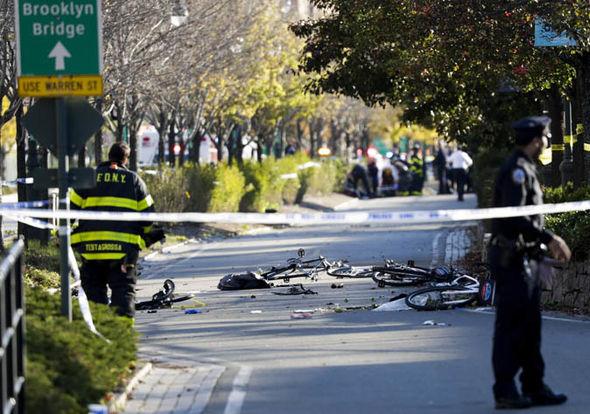 New York terror attack: Bikes on the street