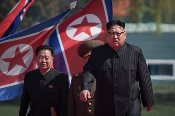 Rotund North Korean leader Kim Jong-Un made an appearance yesterday with a new black suit on