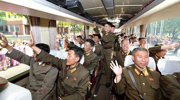 North Korean missile developers