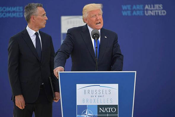 North Korea: Donald Trump at the NATO summit