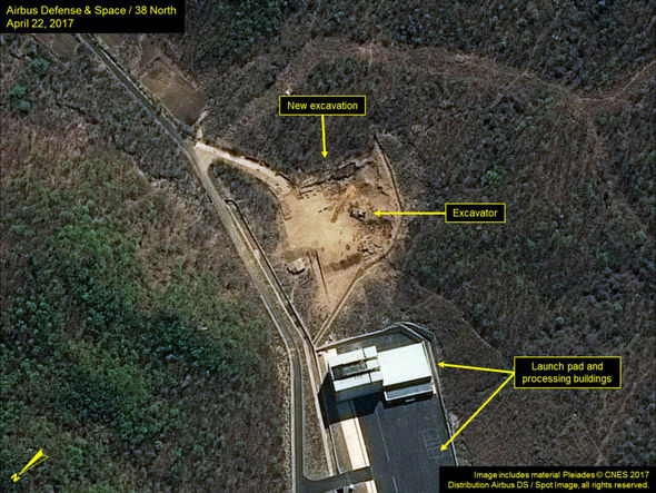 North Korea's rocket launch site