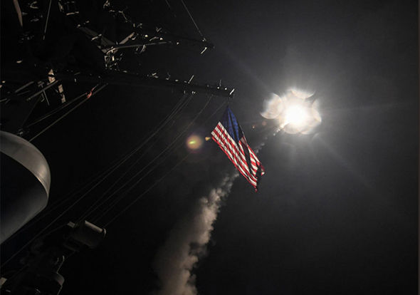 USA air strike Syria