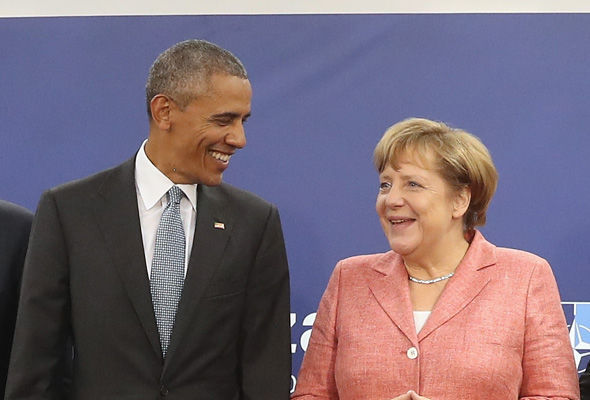 Barack Obama and Angela Merkel pushed for the TTIP deal