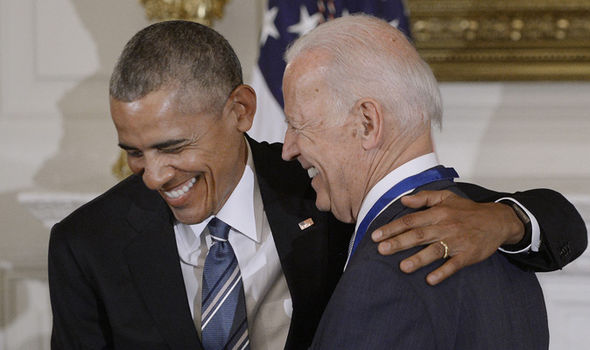 Obama and Biden were renowned for their close friendship