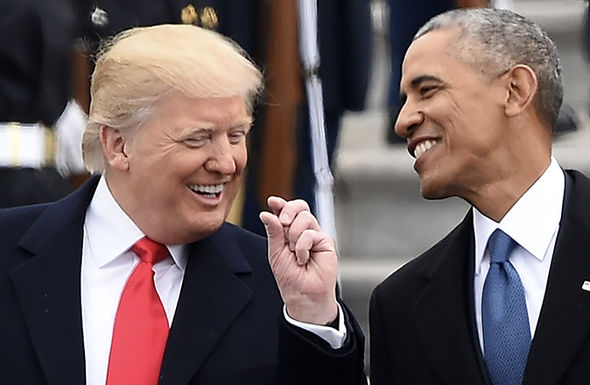 Obama and Trump appeared amicable on inauguration day, but body language experts suggest otherwise