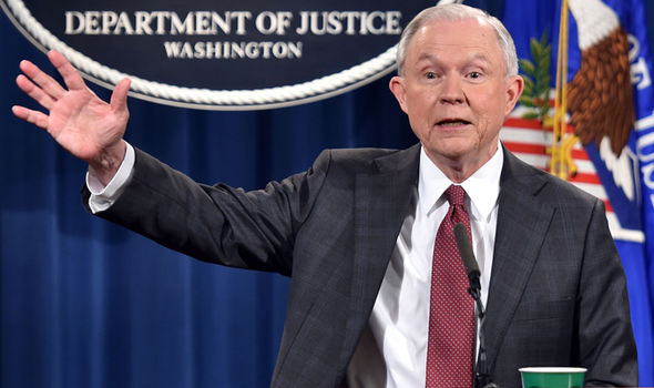 JEFF SESSIONS: Donald Trump attacks Democrat 'WITCH HUNT ...