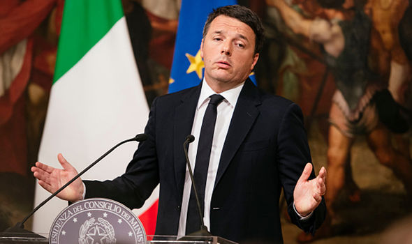 Renzi's resignation in December has sparked chaos within his party