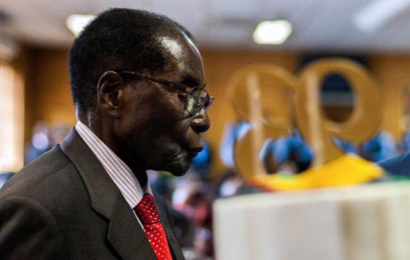 Robert Mugabe celebrated his 93rd birthday