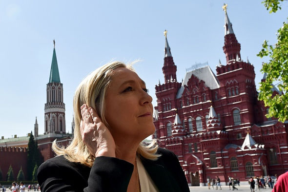 Marine Le Pen has visited Russia on numerous occasions
