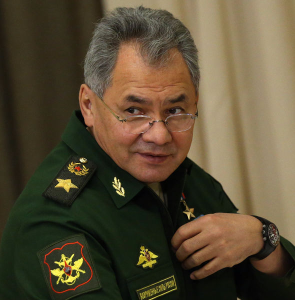 "Mr Shoigu said the tests will allow Moscow to create weapons with ""unique combat capabilities""."