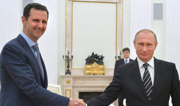 Putin al-Assad