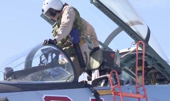 Russian fight jet pilot
