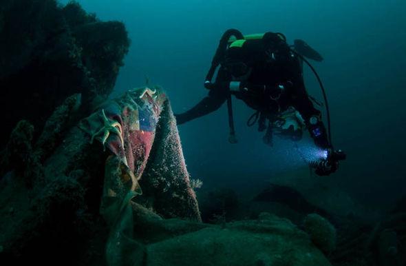 Scapa Flow diver