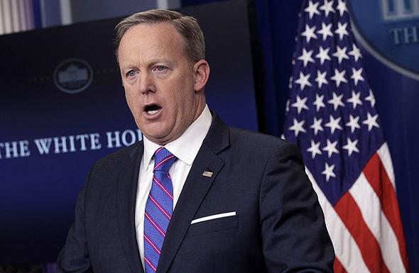 Sean Spicer said Trump expected Russia to return Crimea