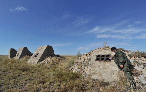 The Semipalatinsk site in Kazakhstan