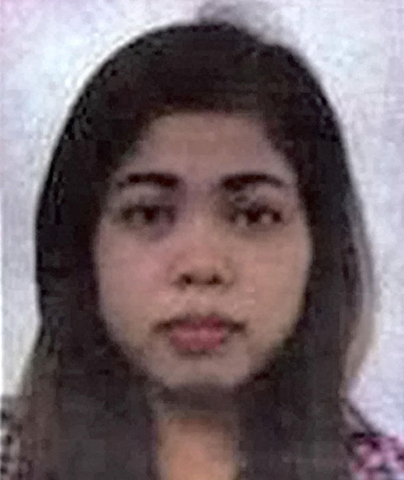 Siti Aisyah suspect