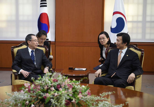 Meeting in South Korea