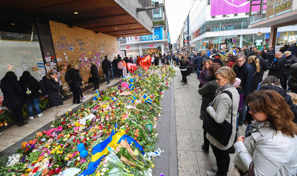 Stockholm shoppers were killed by attacker