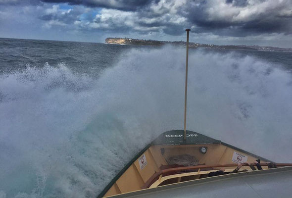 Sydney's coastline has been battered by storms and heavy swell