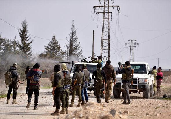 Syrian insurgents