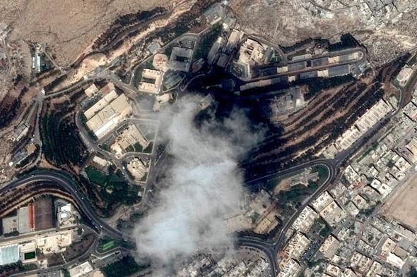 Syria air strike