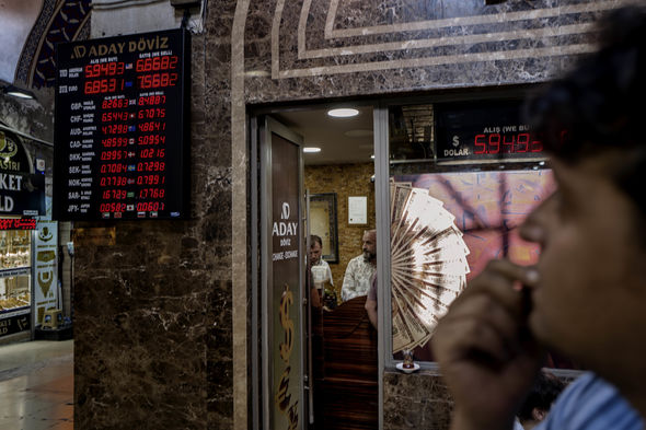 The lira has plunged to its lowest level yet