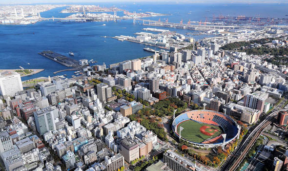 One of the stadiums for Tokyo 2020