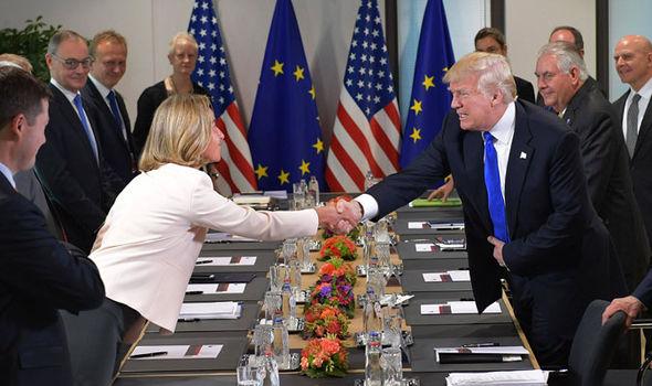Trump-EU-Brussels