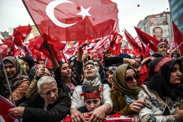 The Turkish President hopes to increase his powers following the April vote