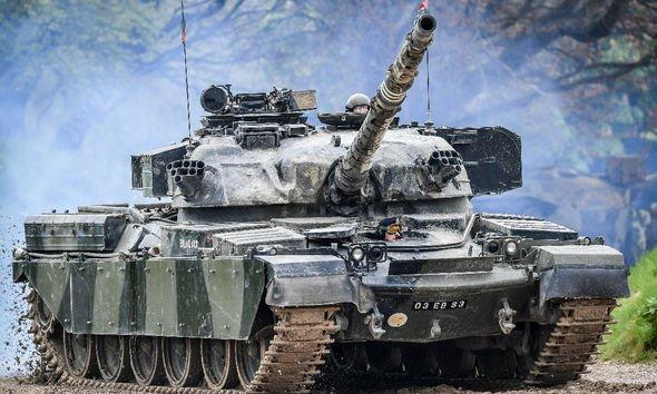 UK Iran debt: Cheiftain tanks