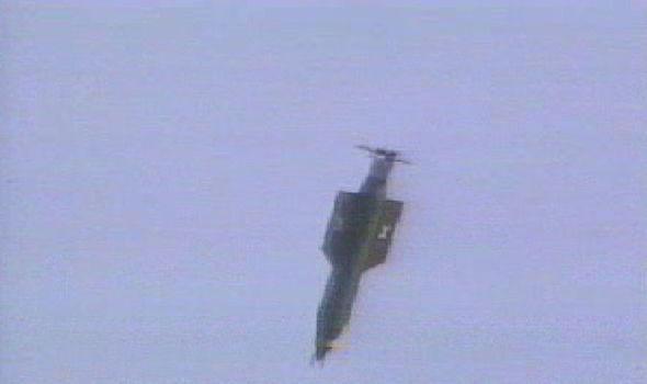 MOAB bomb test