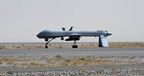 US drone flight
