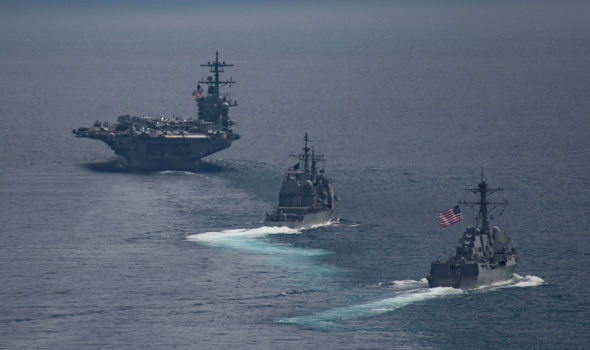USS Carl Vinson strike group