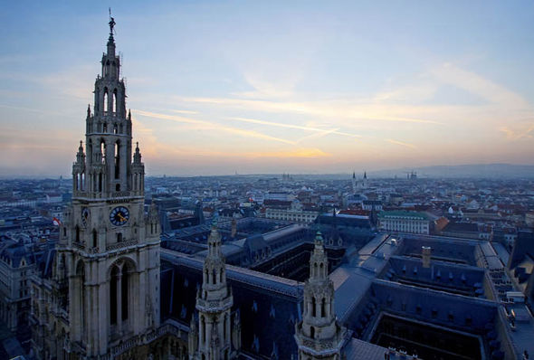 Austrian capital city Vienna