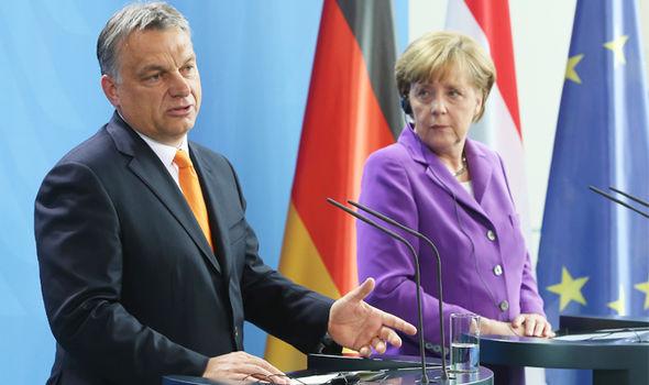 la migración Hungría, Viktor Orban UE