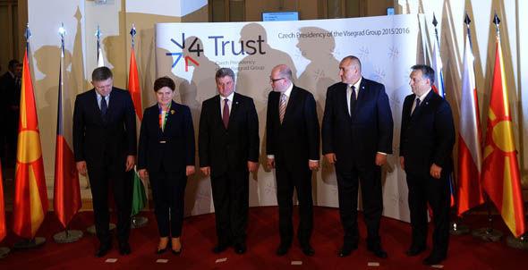 Visegrad Group meeting in Prague