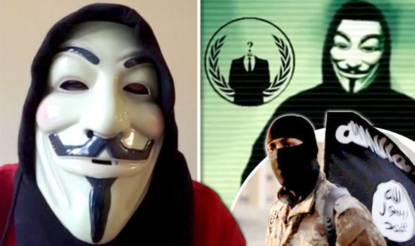 Masked Anonymous activists