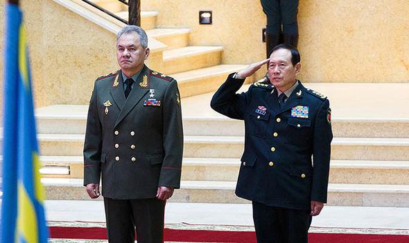 china news russia alliance military ties usa trade war