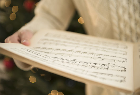 Children in Flero hummed the tune to Holy Night
