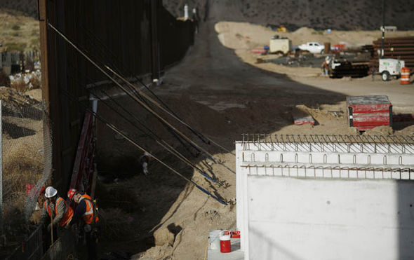 us mexican border wall