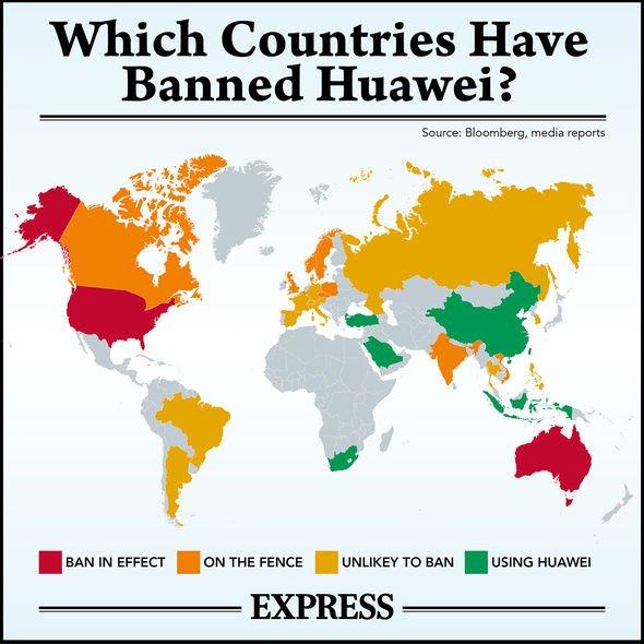 huawei 5g uk china latest news ban