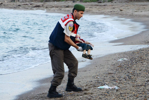 The image of young Aylan Kurdi washed up dead on a beach rocked the world